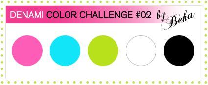 DeNami Color Challenge ONE