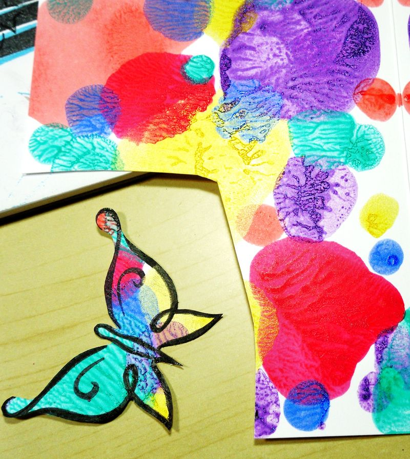 Nail Polish DeNami Butterflies (10)