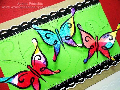 Nail Polish DeNami Butterflies (3)