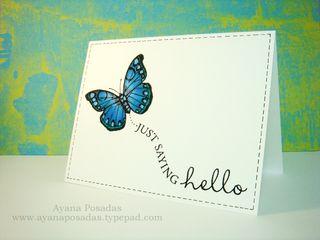 Copic Butterflies (5)