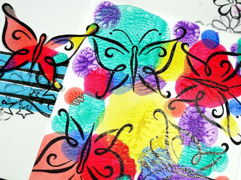 Nail Polish DeNami Butterflies (9)