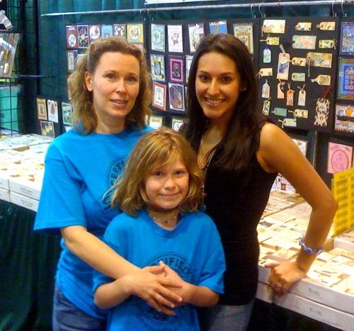 Wendy and her niece and I at StampFest 2010